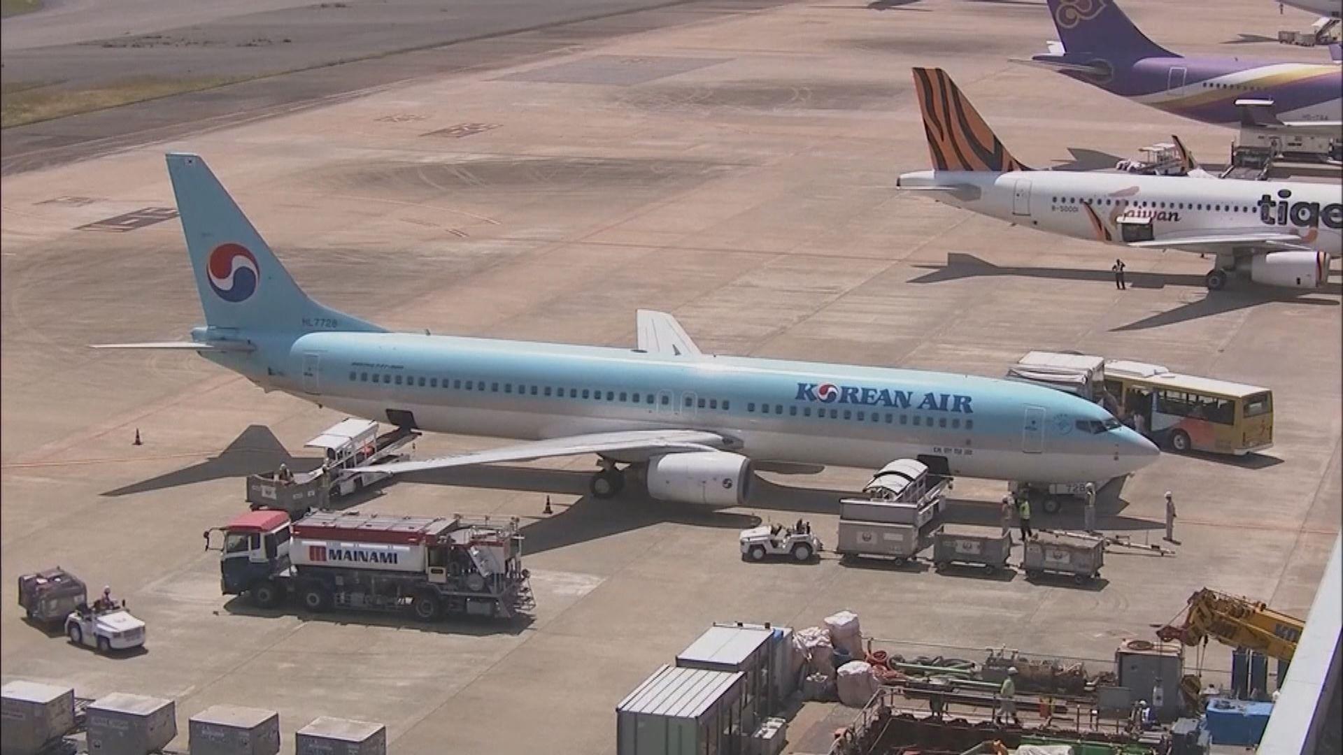 英國飛南韓直航航班下月恢復