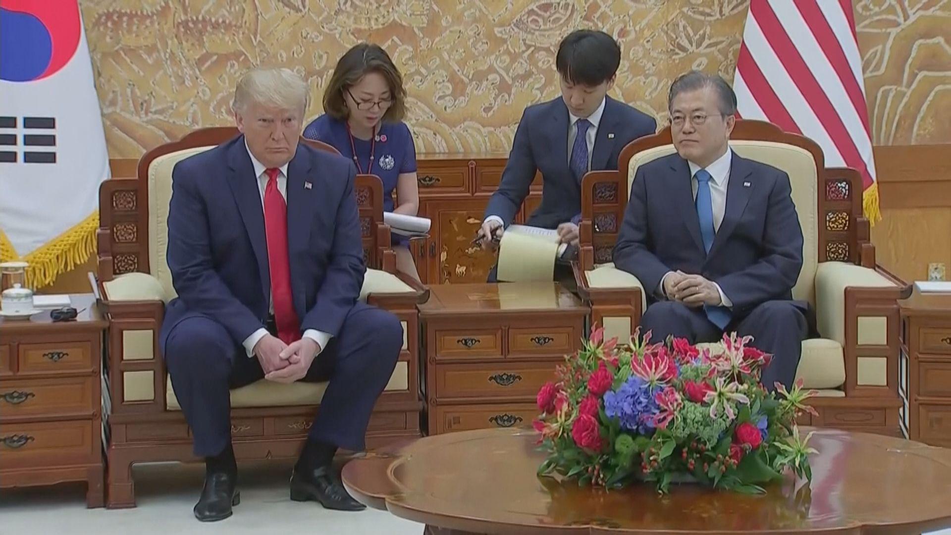 特朗普將由文在寅陪同往兩韓非軍事區