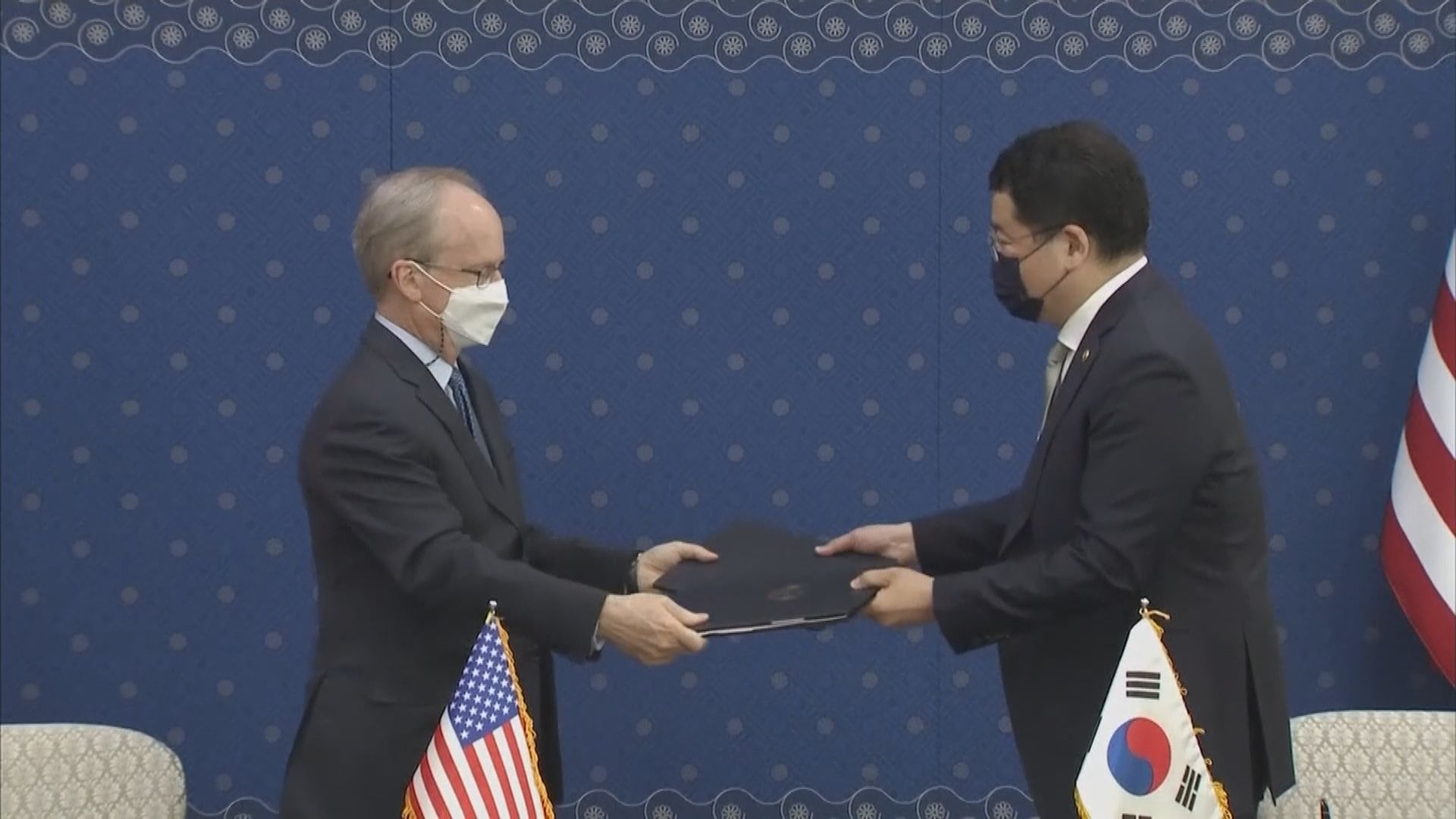 韓美就駐韓美軍防衛費安排簽署協定