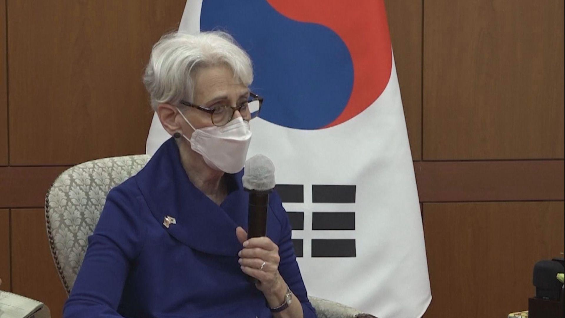 美國副國務卿舍曼:毫無疑問與中方在北韓核問題合作
