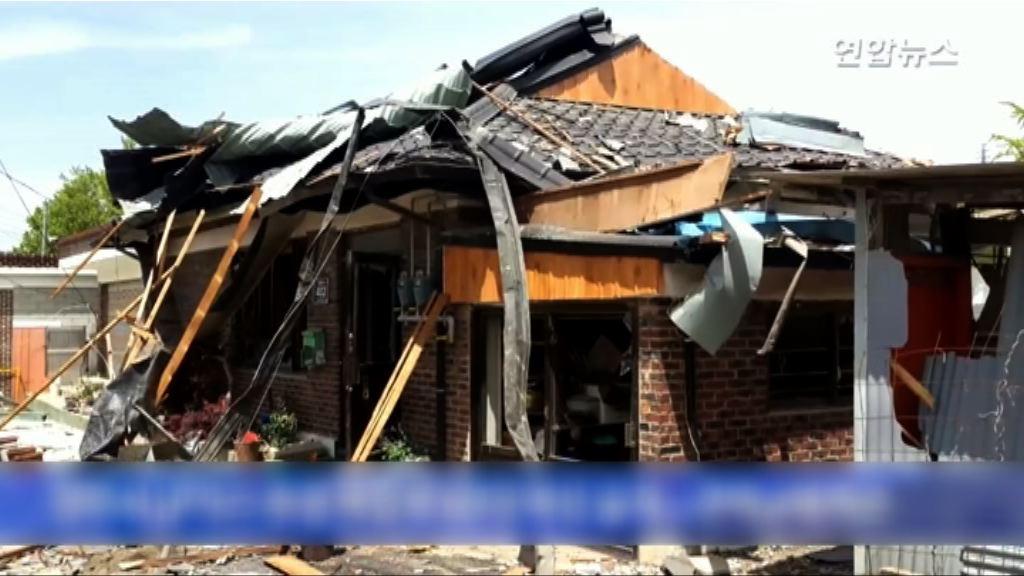 南韓楊州住宅區氣爆 至少兩死