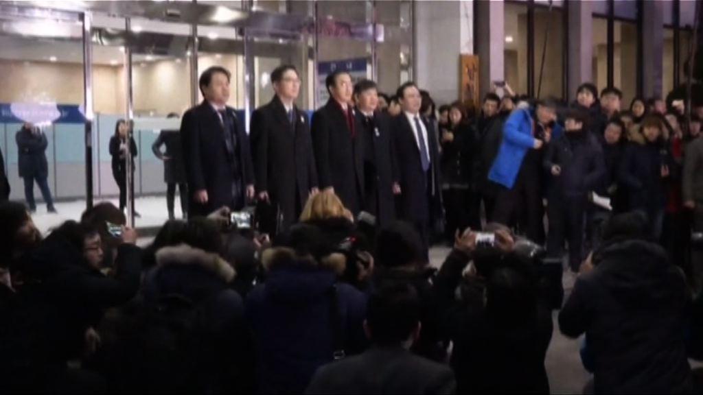 南韓代表出發到板門店與北韓談判