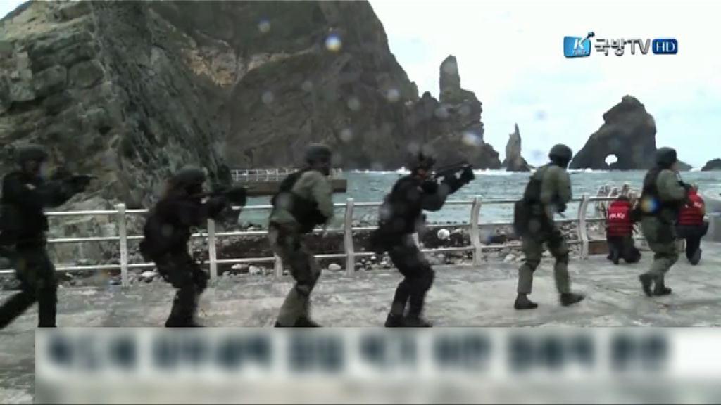 南韓軍方今展開獨島防禦演習