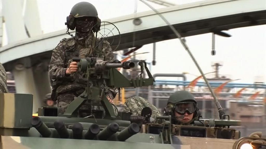 美韓結束登陸演習 軍演規模縮減
