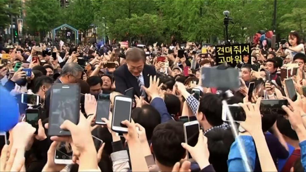 南韓明日總統選舉 候選人努力拉票