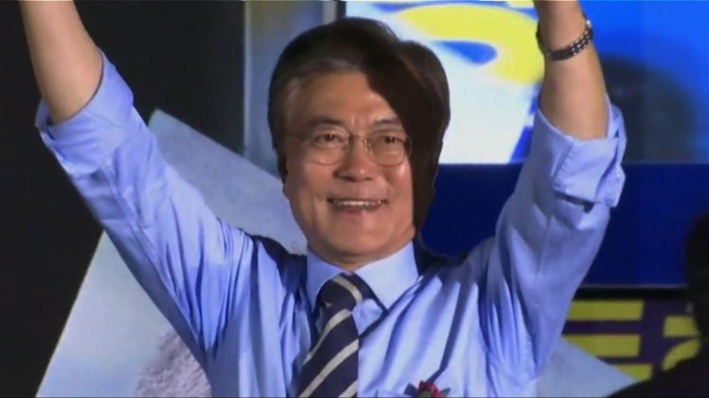 文在寅民調大幅領先 料當選南韓總統