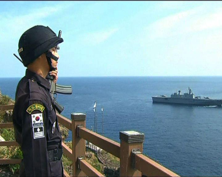 南韓獨島射擊演習惹日本不滿