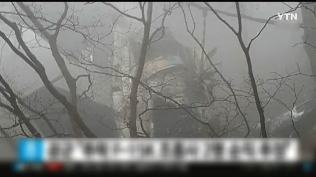 南韓F-15K墜毀兩人死亡