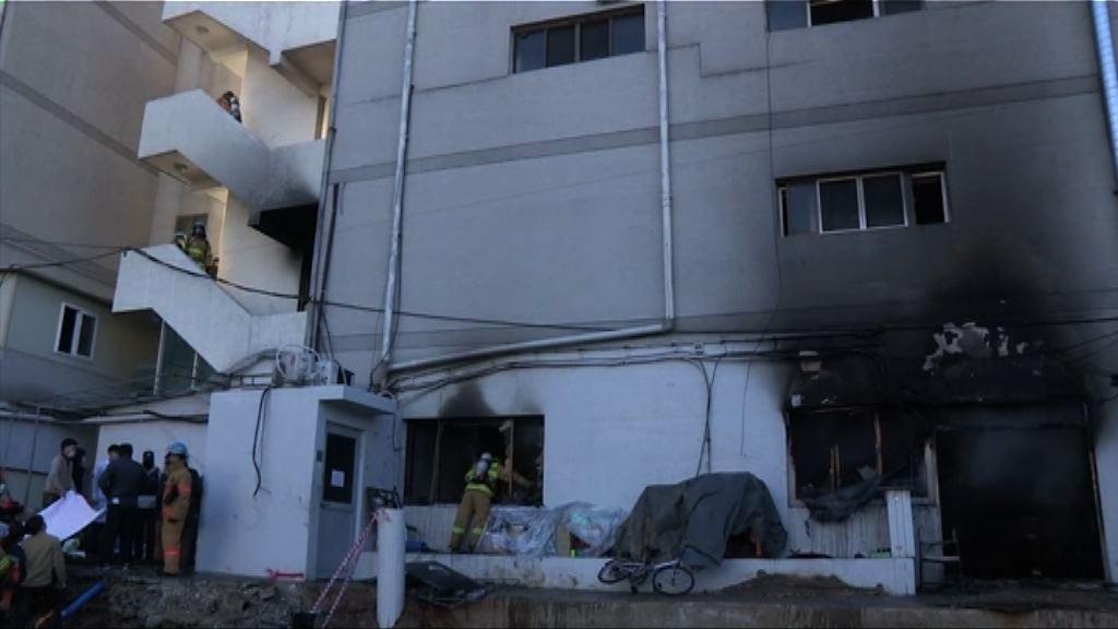 南韓醫院大火41死 文在寅召開緊急會議