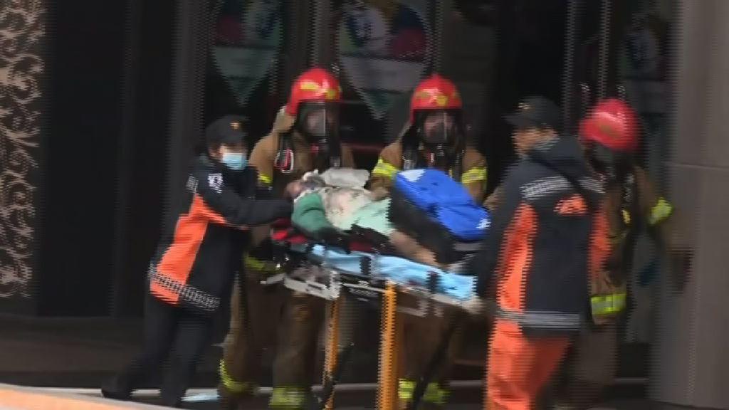 南韓華城有商場起火 四人死