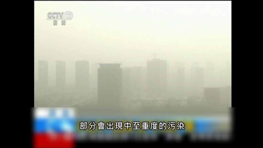 中國北方沙塵天氣波及日韓