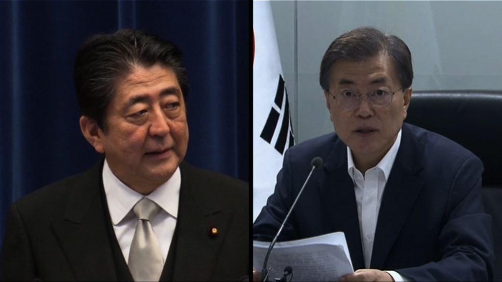 韓總統與日美領袖商北韓問題