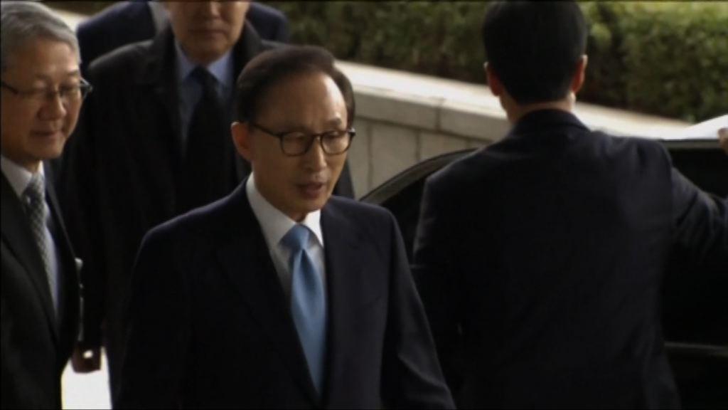 南韓檢方申請逮捕前總統李明博