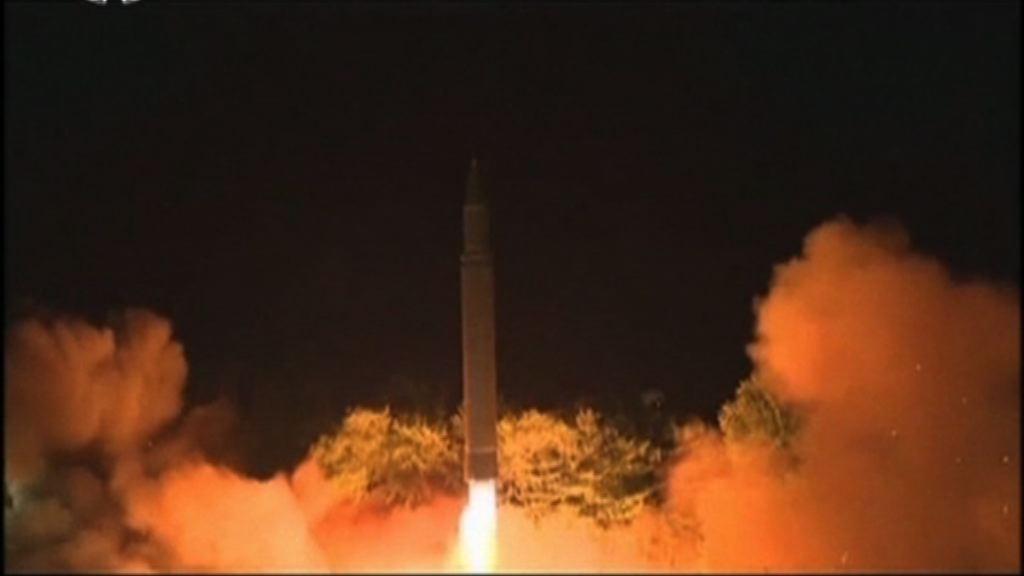 南韓稱北韓或隨時再發射洲際導彈