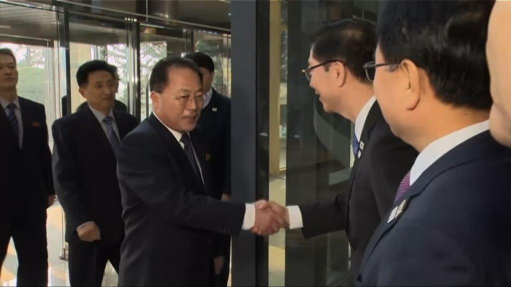 兩韓再商冬奧事宜 韓研制裁令下接待朝方式