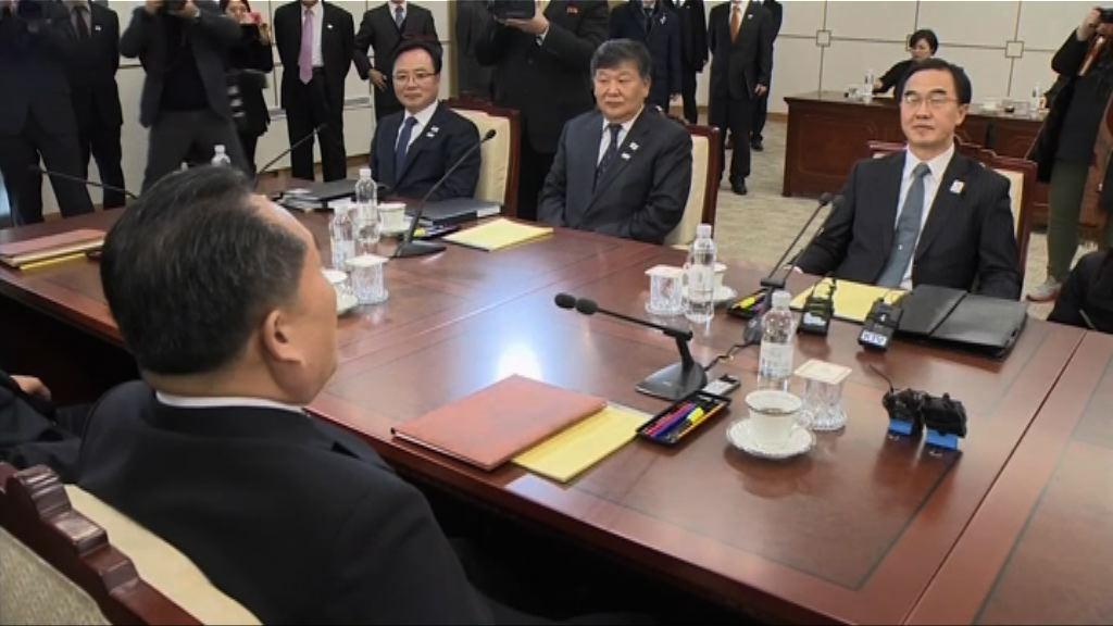 兩韓就冬奧及舉行軍事會談達成一致