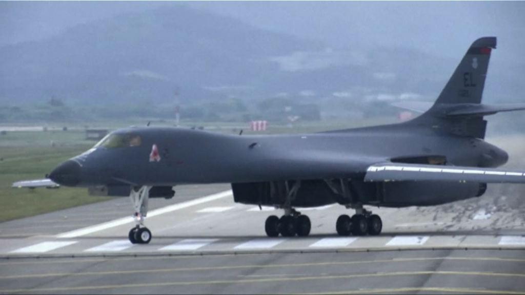 美軍兩轟炸機再飛越南韓上空