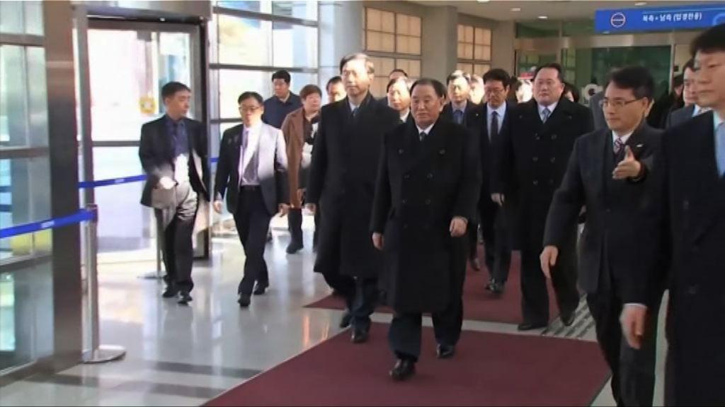 北韓代表團抵南韓訪問三天