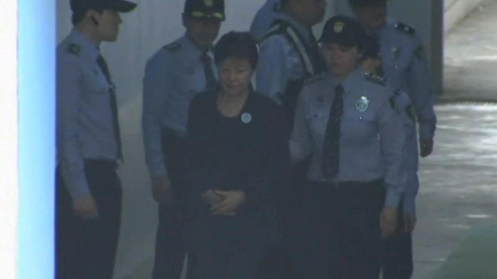 南韓前總統朴槿惠今首次出庭受審