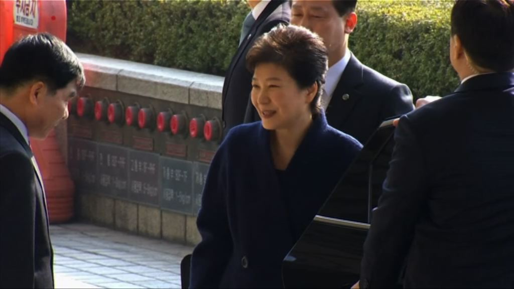 南韓檢方短期內決定是否逮捕朴槿惠
