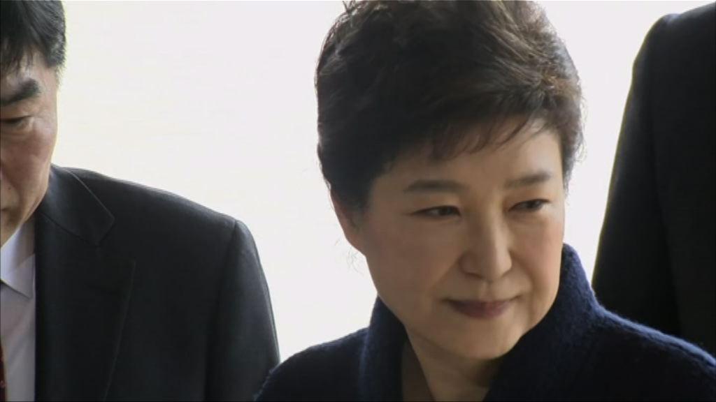 朴槿惠周二於拘留所接受盤問