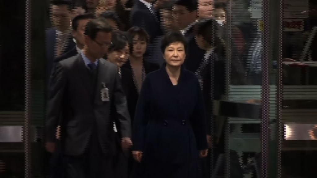 南韓檢方下周一將起訴朴槿惠