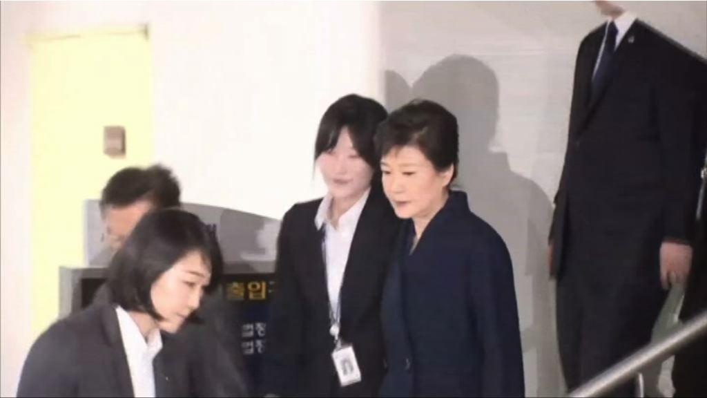 南韓檢方第五度盤問朴槿惠