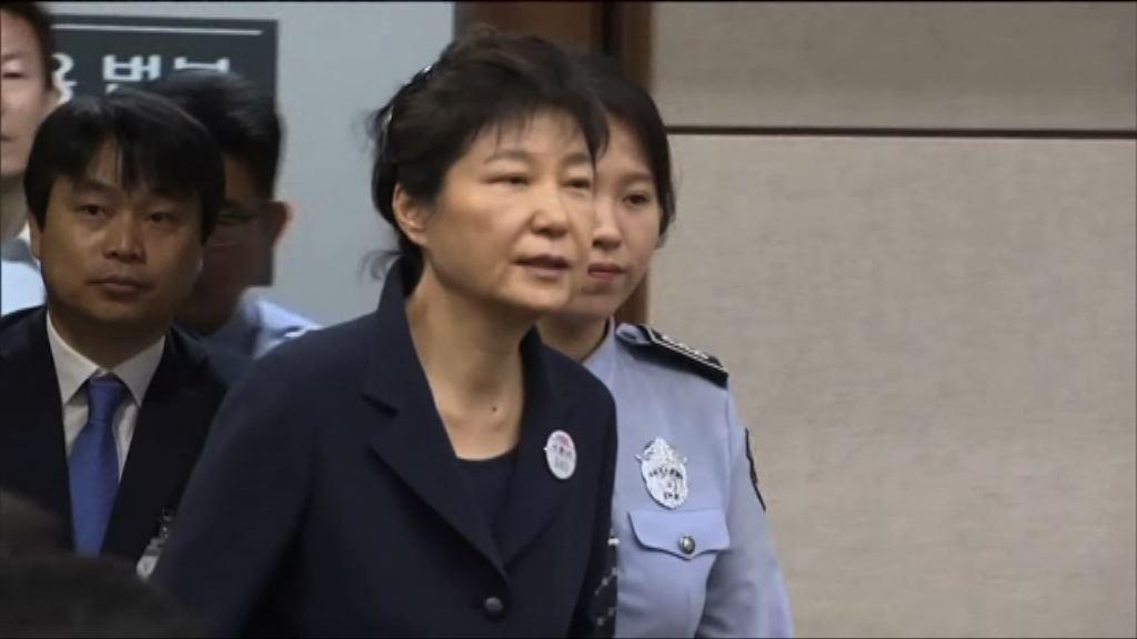 南韓前總統朴槿惠再被判囚八年