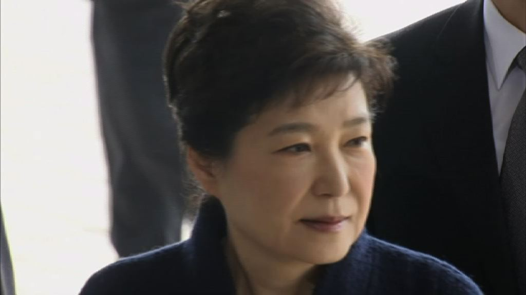 朴槿惠於拘留所再被盤問否認控罪