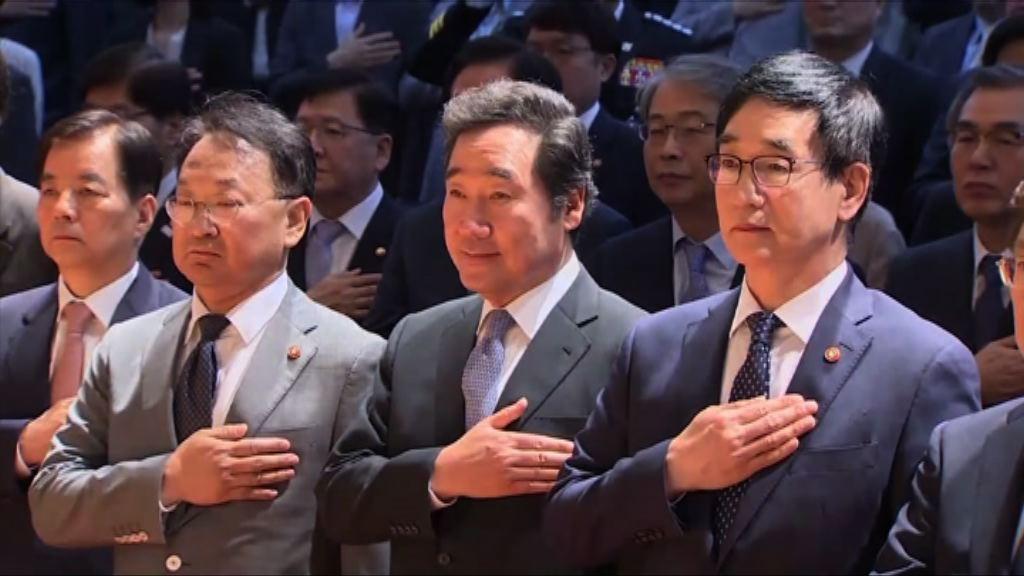 南韓新任總理李洛淵宣誓就職