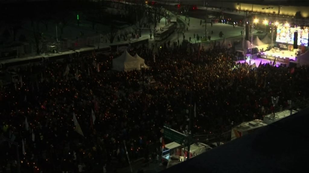首爾繼續有反朴槿惠集會