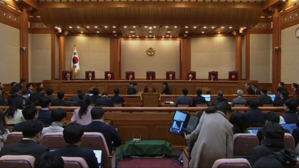 南韓憲法法院通過彈劾朴槿惠 60日內大選