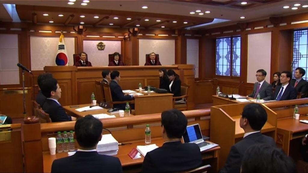 朴槿惠彈劾案明宣判 警方將啟動最高警戒