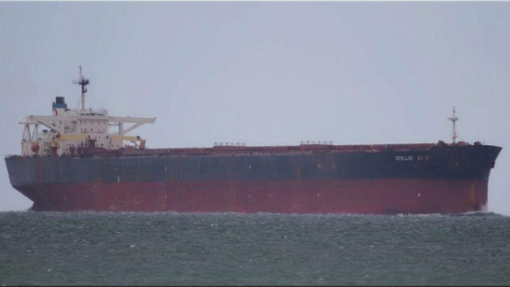 南韓貨船疑沉沒 暫時僅2船員獲救