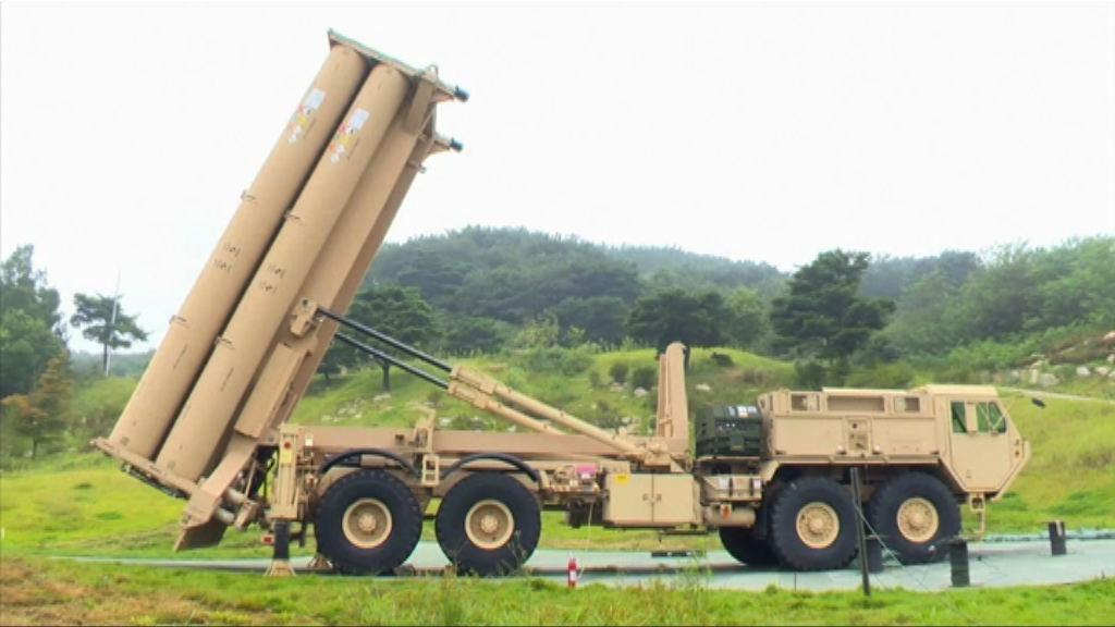 南韓在星州完成薩德系統臨時部署