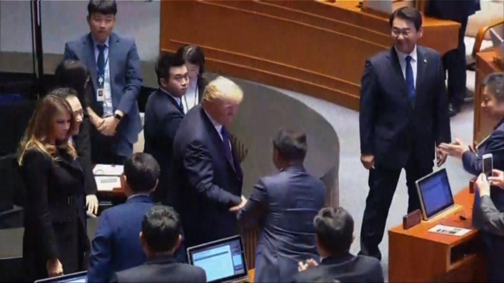 特朗普批評北韓人權問題
