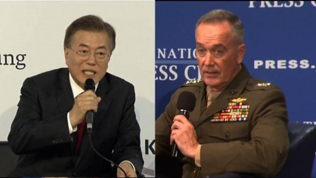 鄧福德到訪南韓將與文在寅會晤