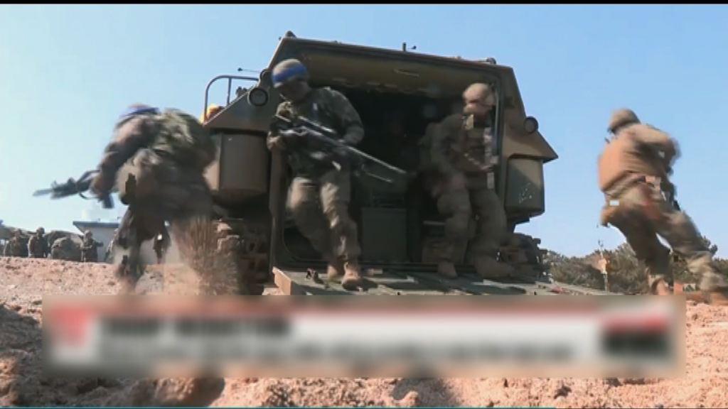 韓美展開聯合軍演應對北韓威脅