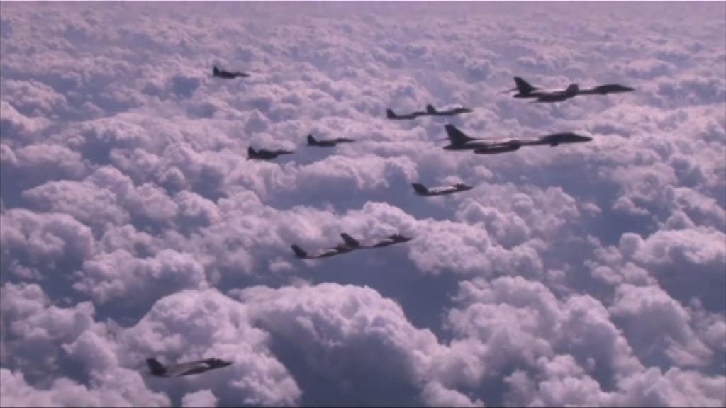 美韓展開歷來最大規模空中演習 為期五天