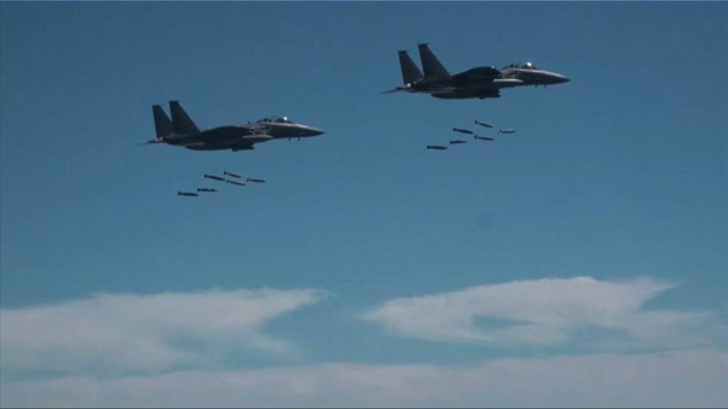 美韓聯合空軍演習 北韓:會無情回擊挑釁