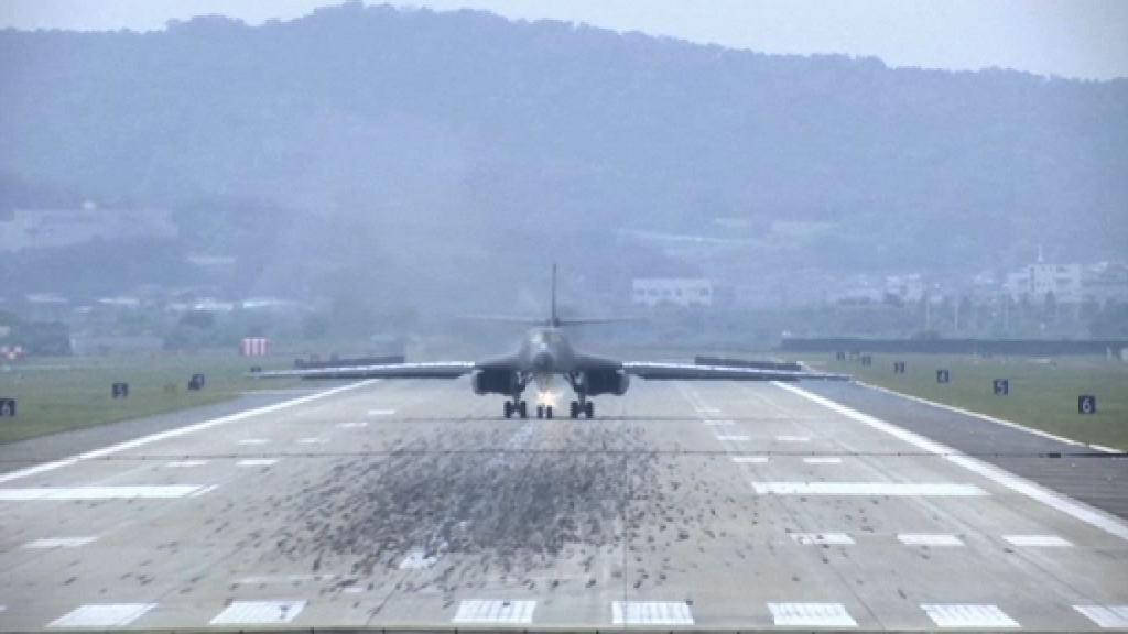 美軍在北韓邊境投彈訓練 朝鮮斥美軍挑釁