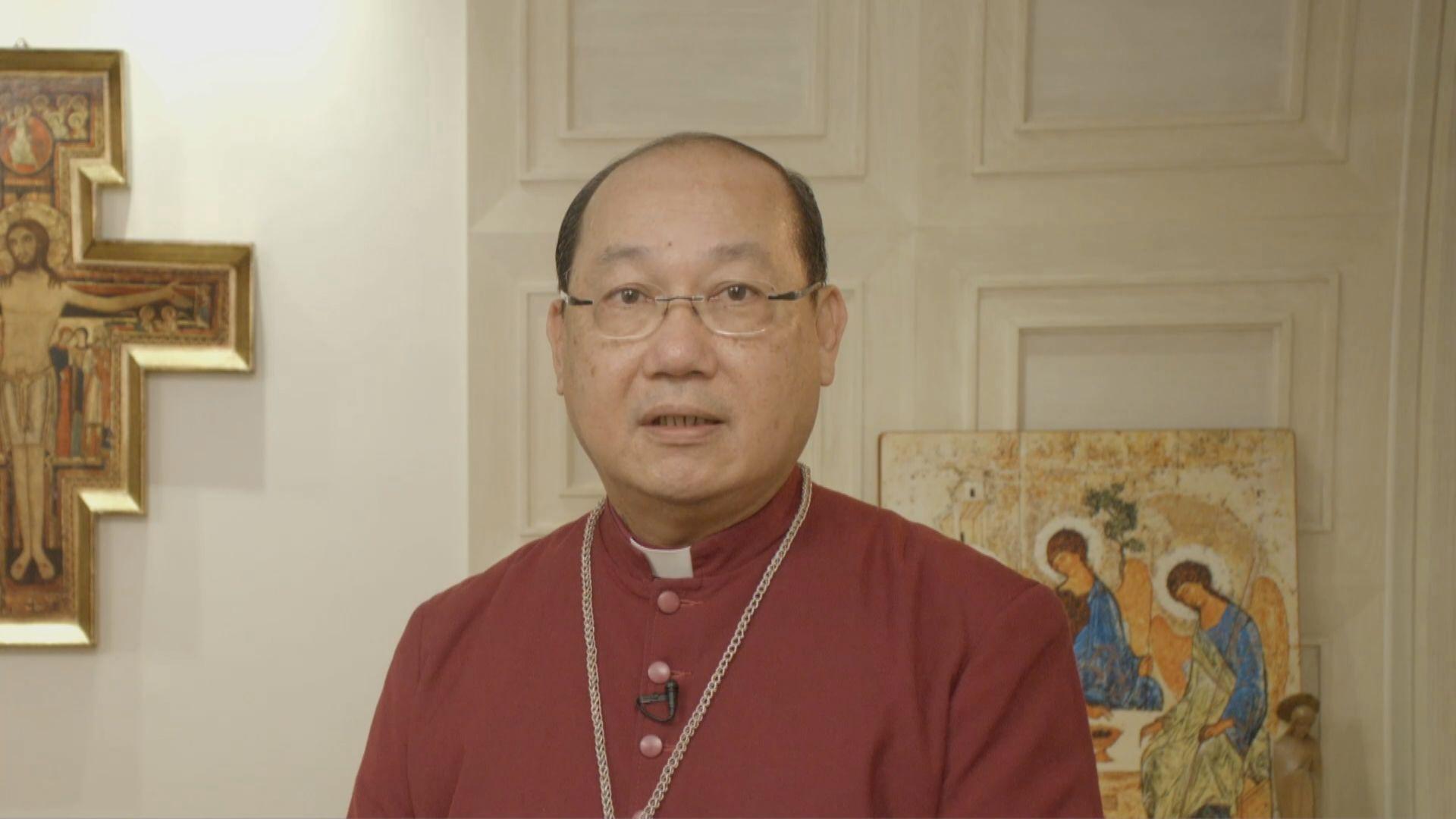 鄺保羅大主教聖誕文告促政府及抗議人士虛心對話