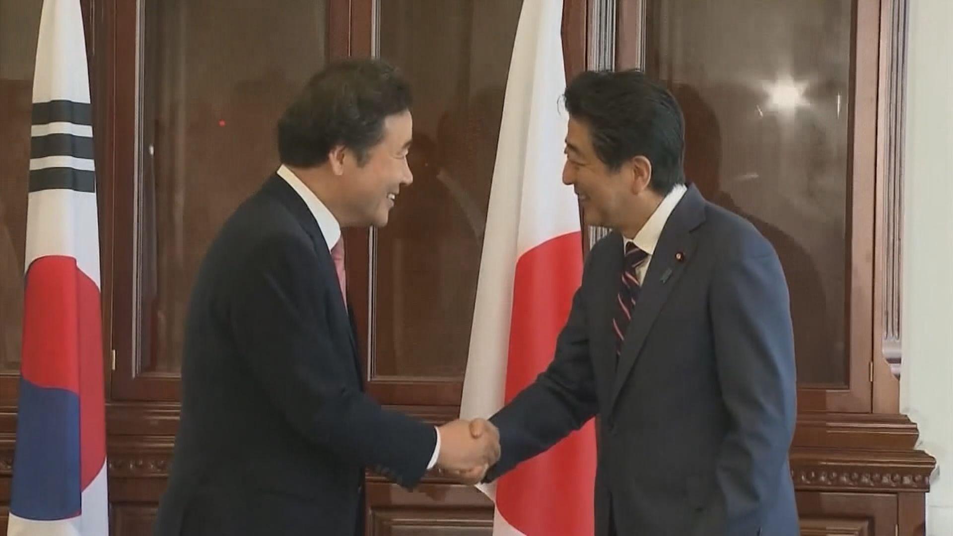 南韓總理下周訪日與安倍會晤