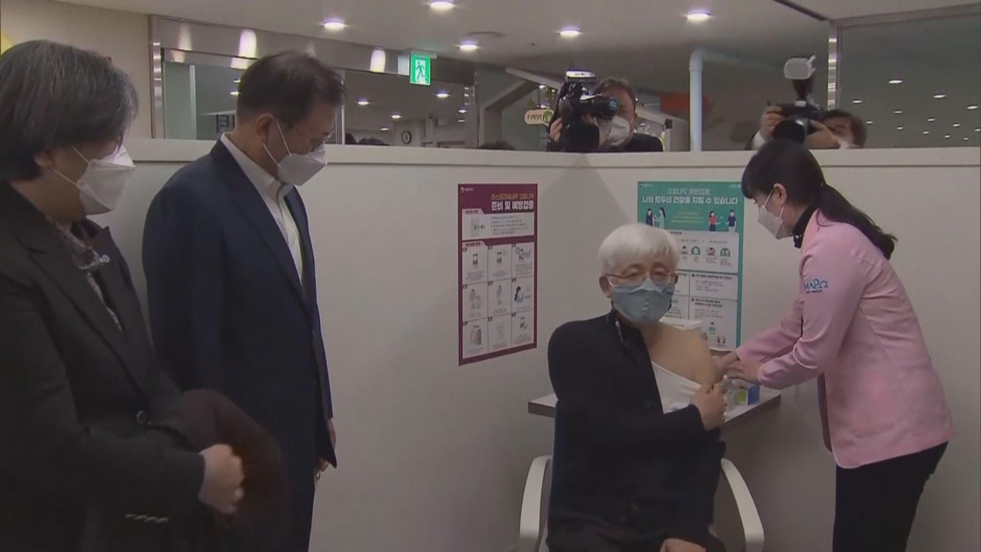 南韓增疑似疫苗異常反應806宗 再多一人死亡