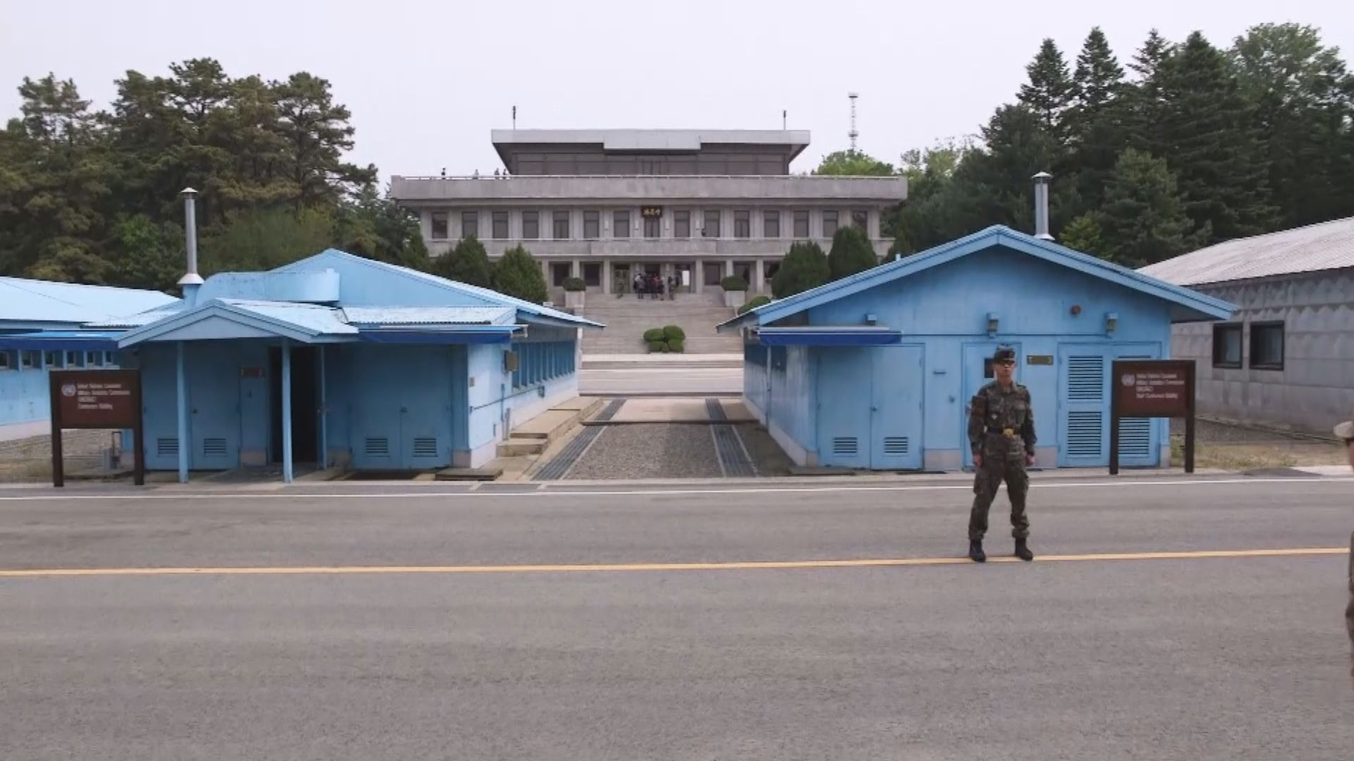 南韓軍哨所遭北韓槍擊無傷亡
