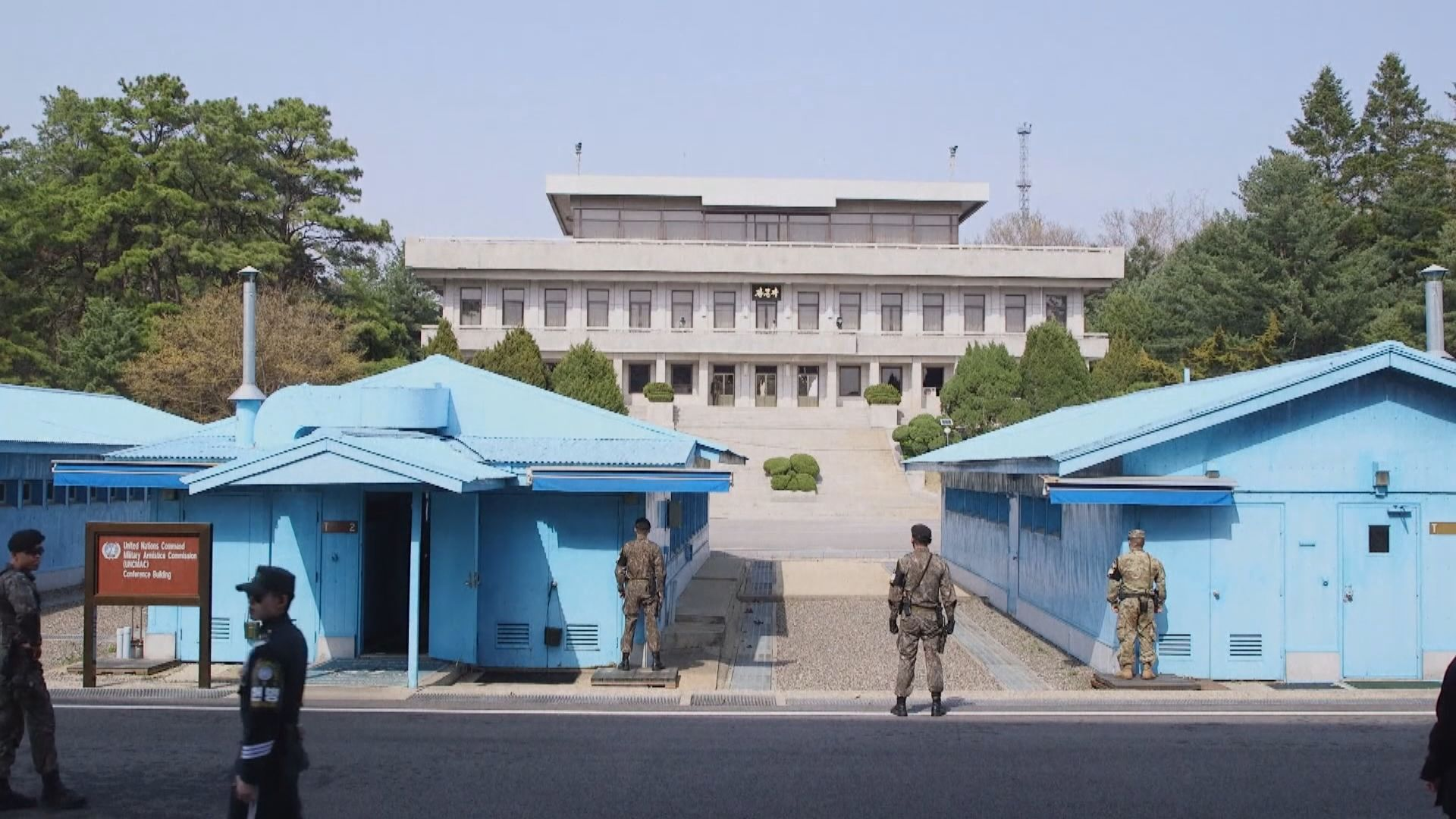 南韓軍哨所遭北韓槍擊無傷亡 南韓初步認為非蓄意挑釁