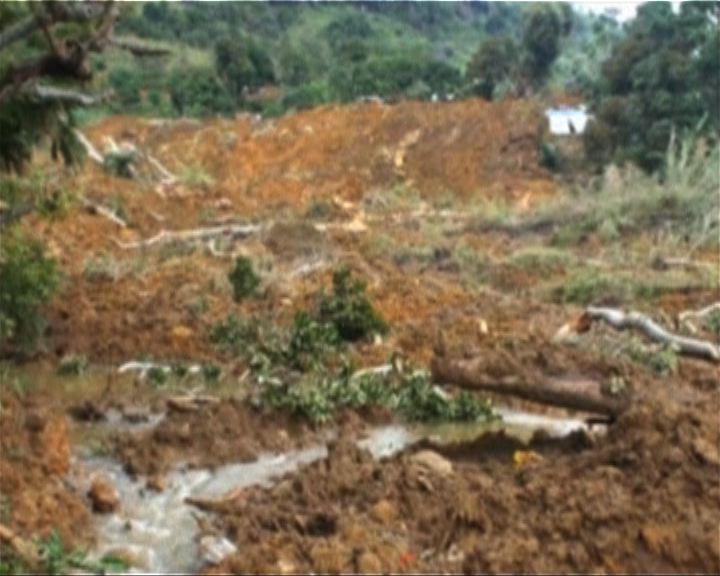 斯里蘭卡山泥傾瀉料逾百死