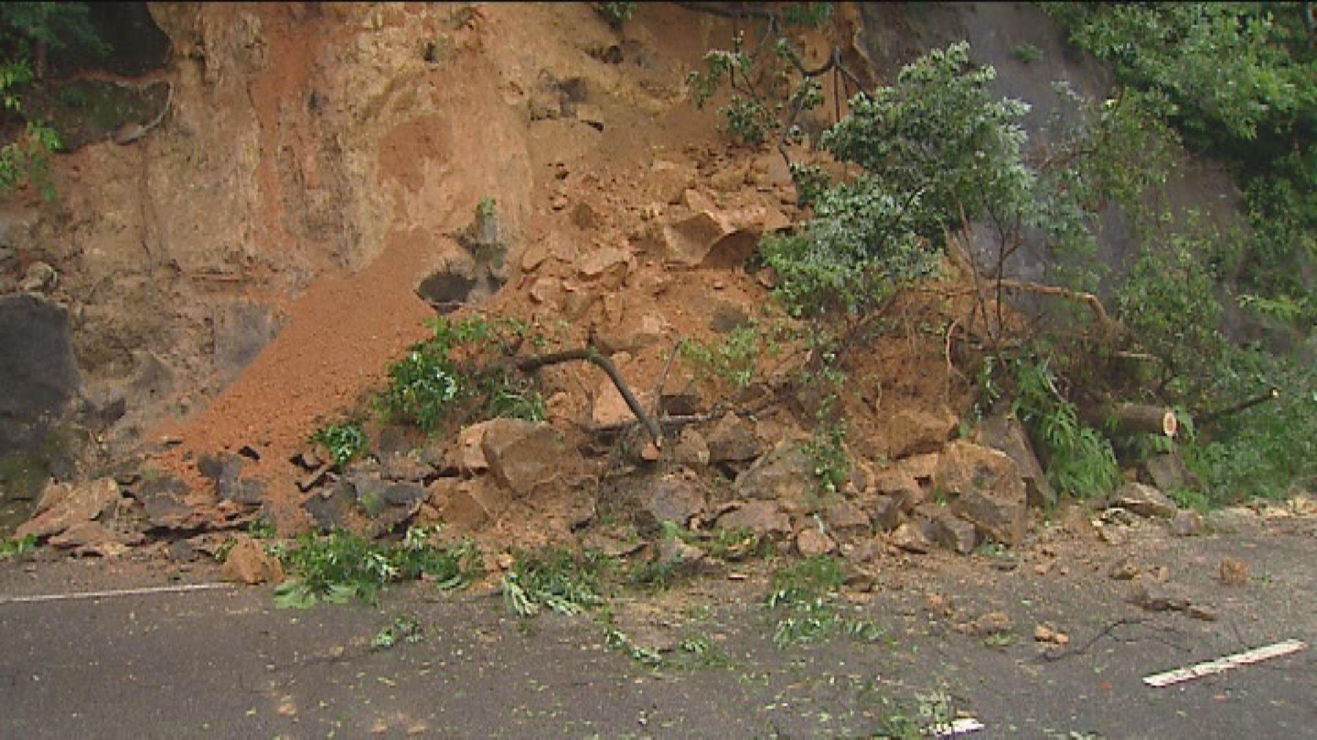 土力工程處稱極端天氣增山泥傾瀉風險