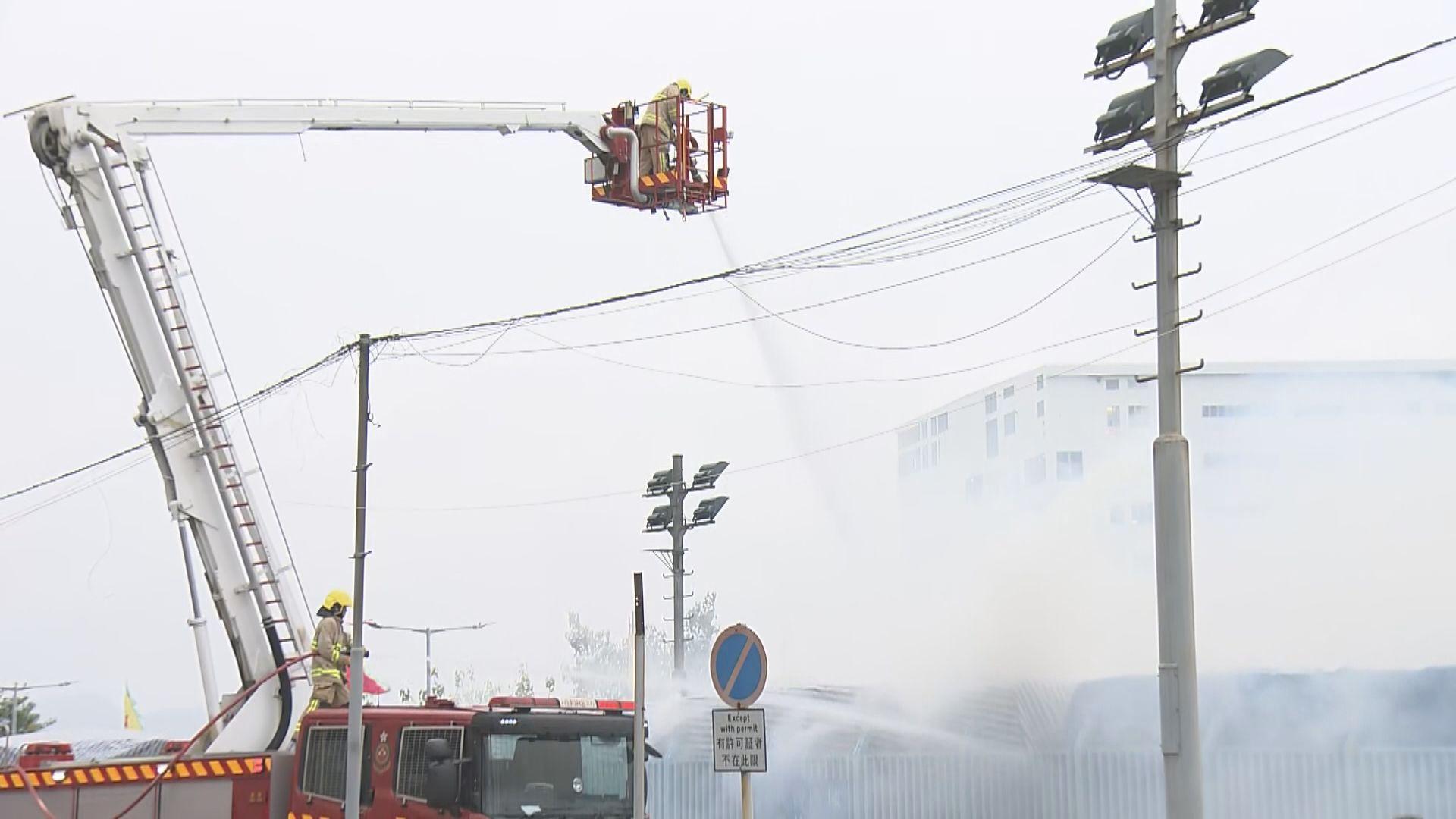柴灣一個回收紙場火警無人受傷
