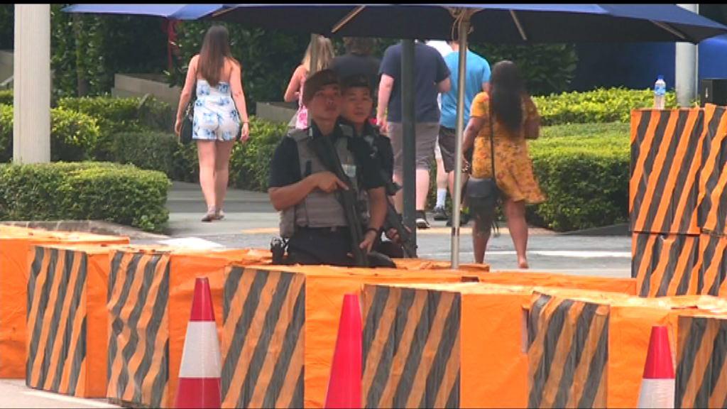 有傳金正恩今日飛抵新加坡 酒店保安嚴密